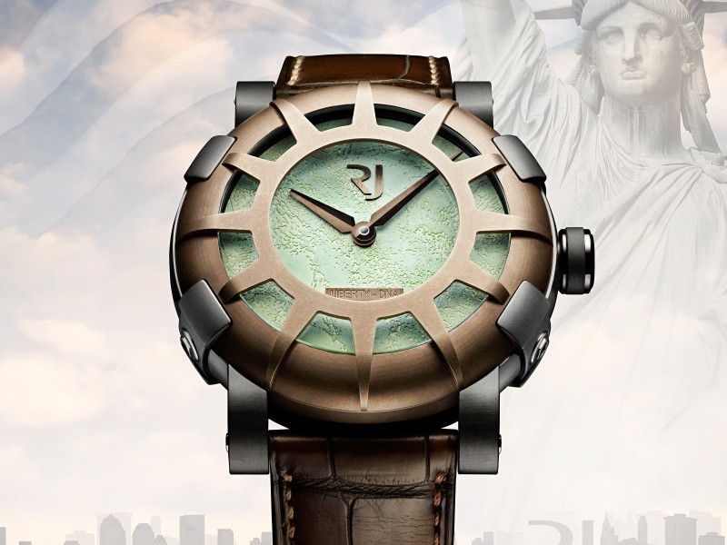Romain Jerome Honors Liberty's 125th