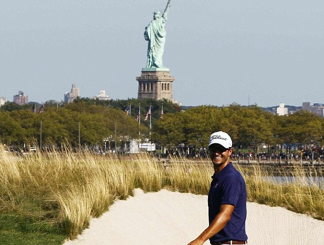 Congratulations to Adam Scott – Winner of the Barclays at Liberty National Golf Course