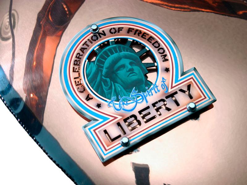 Liberty Bike Gas Tank