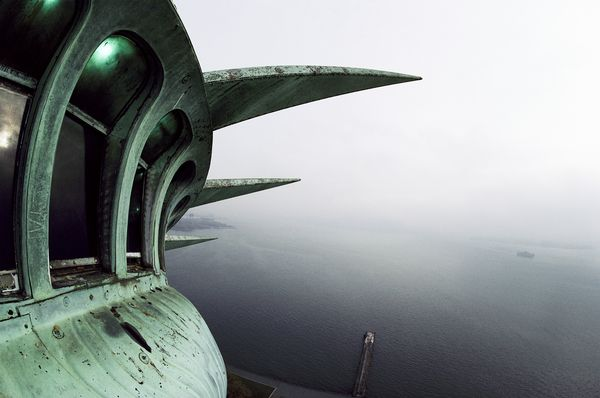 National Geographic Publishes Rare Statue of Liberty Photos